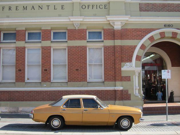 Holden Kingswood on Market Street, Fremantle, Australia
