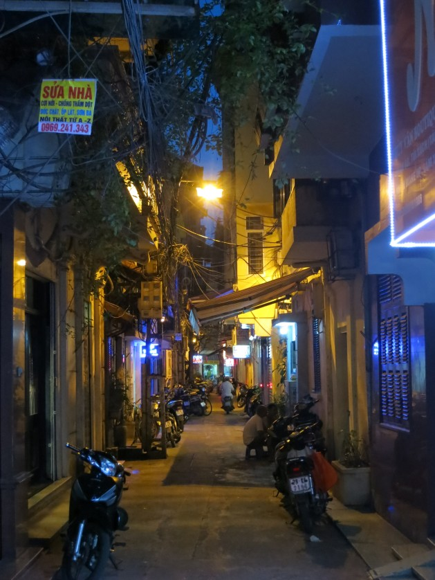 Hanoian Laneway