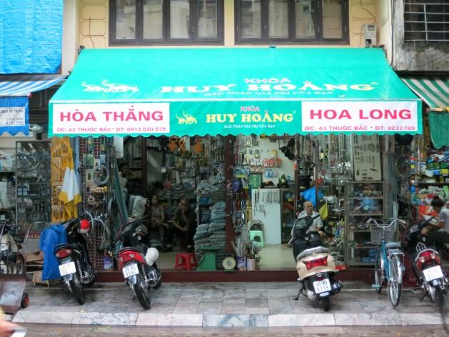 Hanoi Shopfronts