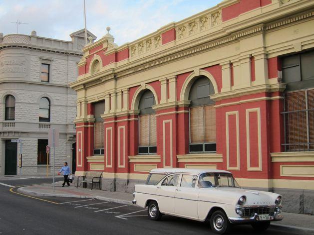 Holden something-or-other on Cliff Street, Fremantle, Australia