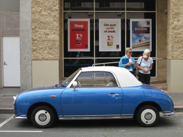 Nissan Figaro on High Street
