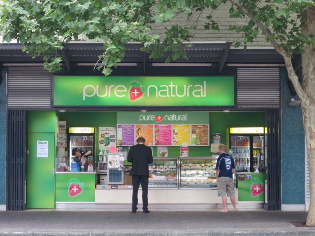 Pure and Natural on Queen Street, Fremantle, Australia