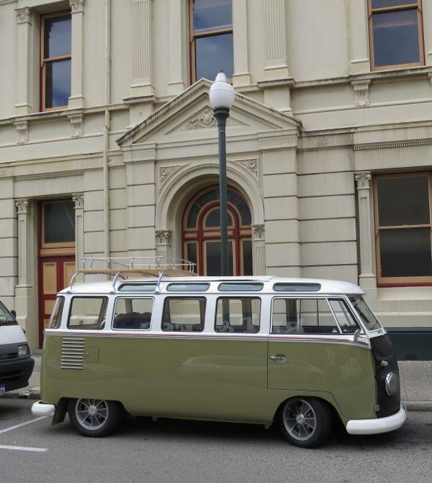 Unusual Volkswagen Kombi on William Street, Fremantle, Australia